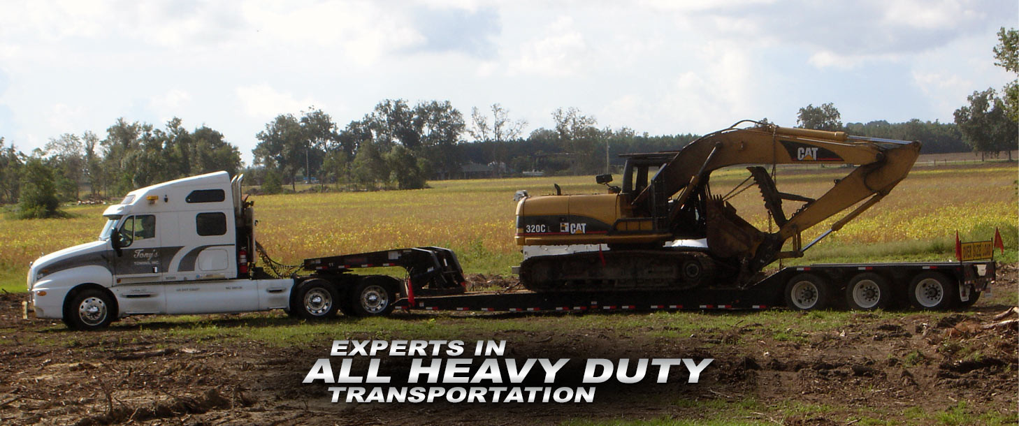 Experts in All Heavy Duty Transportation