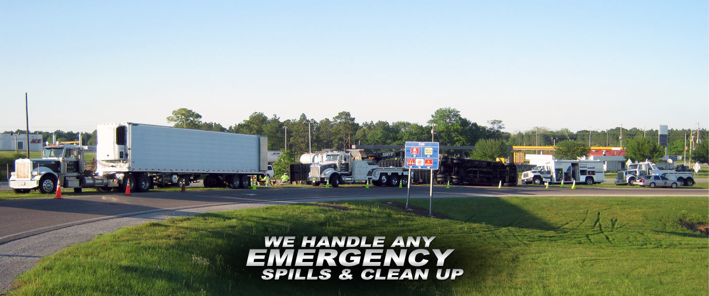 We Handle Any Emergency Spills & Clean Up