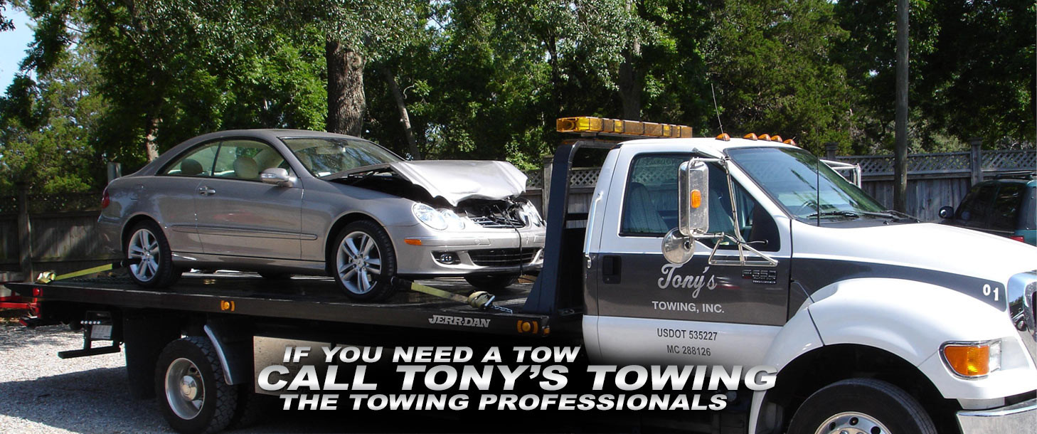 If You Need a Tow Call Tony's Towing